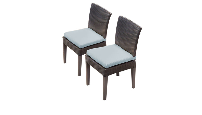 2 Barbados Armless Dining Chairs