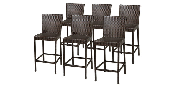 6 Barbados Barstools w- Back