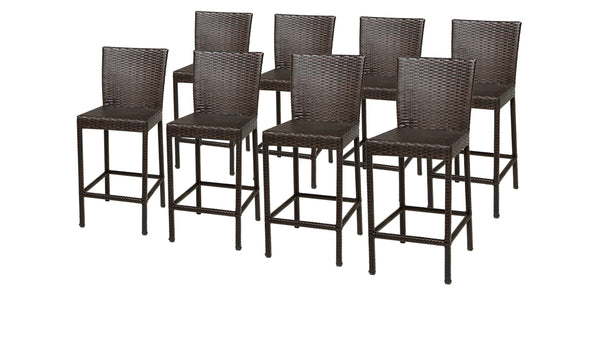 8 Barbados Barstools w- Back