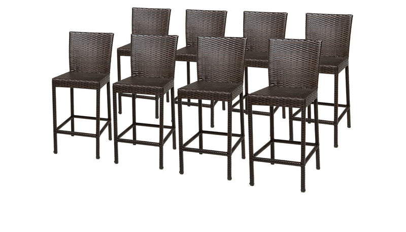 8 Barbados Barstools with Back
