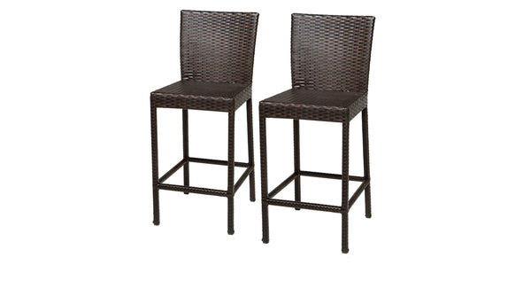 2 Barbados Barstools w- Back