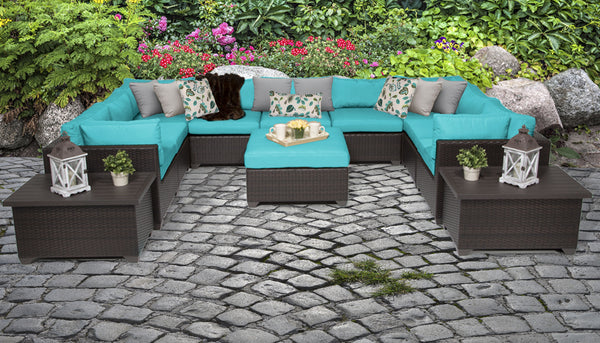 Belle 12 Piece Outdoor Wicker Patio Furniture Set 12a