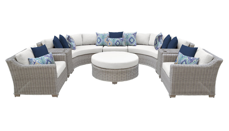 Coast 8 Piece Outdoor Wicker Patio Furniture Set 08e