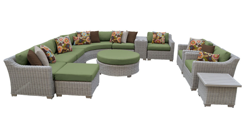 Coast 12 Piece Outdoor Wicker Patio Furniture Set 12a
