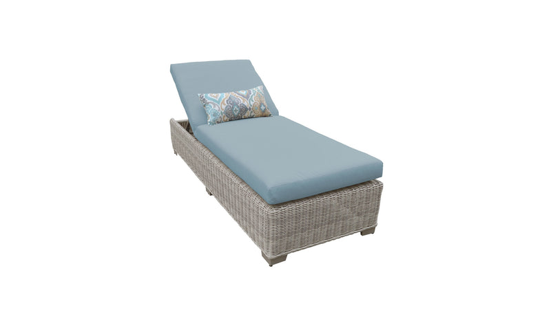 Coast Chaise Outdoor Wicker Patio Furniture