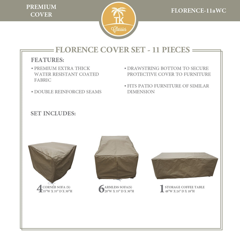 FLORENCE-11a Protective Cover Set, in Beige