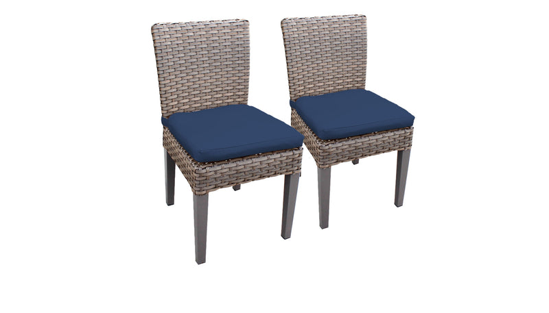 2 Florence Armless Dining Chairs