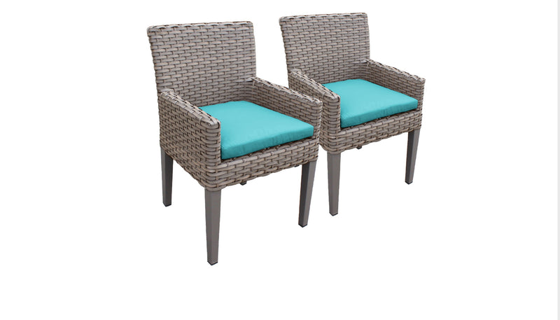 2 Florence Dining Chairs With Arms
