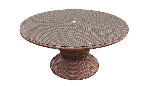 Laguna 60 Inch Outdoor Patio Dining Table