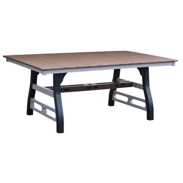 David Lewis 72 inch Manhattan Forge Dining Table by Wildridge