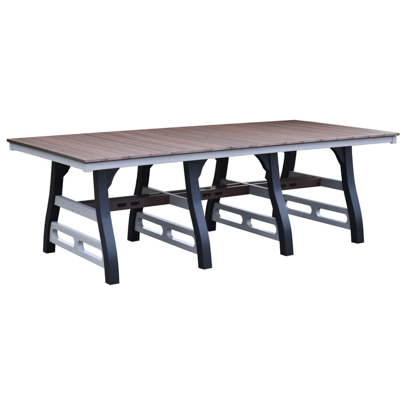 David Lewis 94 inch Manhattan Forge Dining Table by Wildridge