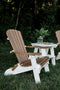 Heritage Folding Adirondack Chair - Two Tone by Wildridge