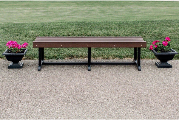 Heritage 68 inch Outdoor Patio Bench by Wildridge