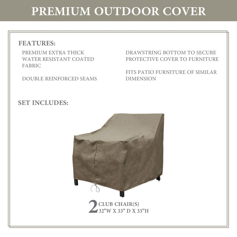Kathy Ireland Homes & Gardens MADISON-02b Protective Cover Set