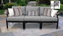 Kathy Ireland Homes & Gardens Madison Ave. 3 Piece Outdoor Aluminum Patio Furniture Set 03c