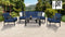 Kathy Ireland Homes & Gardens Madison Ave. 6 Piece Outdoor Aluminum Patio Furniture Set 06r