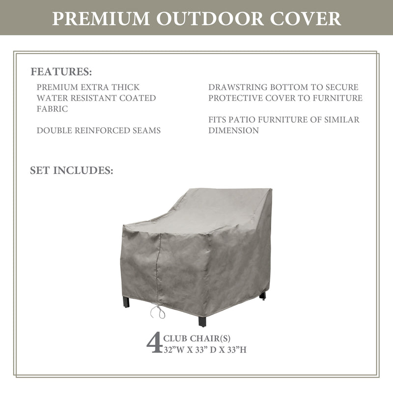 Kathy Ireland Homes & Gardens MADISON-06w Protective Cover Set