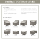 Kathy Ireland Homes & Gardens MADISON-08n Protective Cover Set
