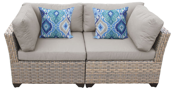 Monterey 2 Piece Outdoor Wicker Patio Furniture Set 02a