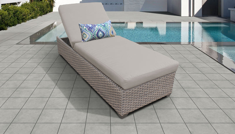 Monterey Chaise Outdoor Wicker Patio Furniture