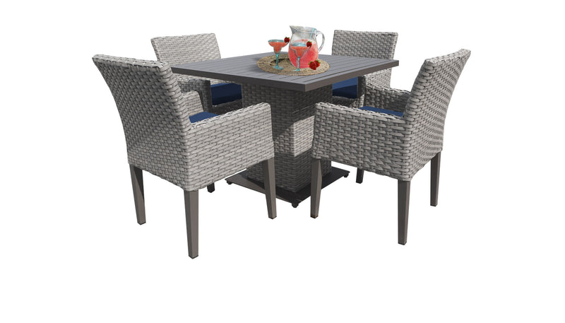 Monterey Square Dining Table with 4 Chairs