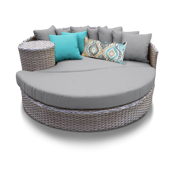 Monterey Circular Sun Bed - Outdoor Wicker Patio Furniture