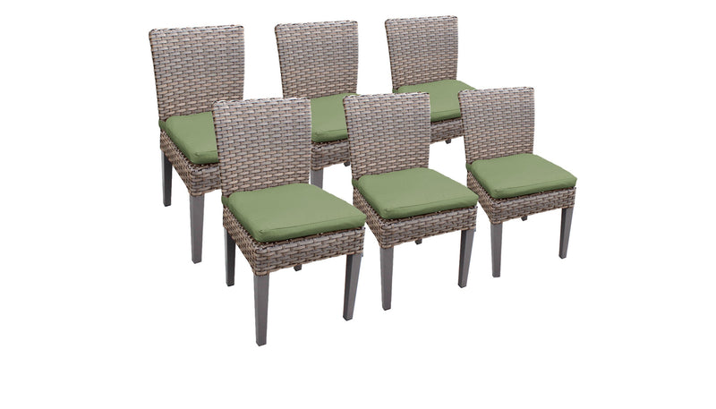 6 Monterey Armless Dining Chairs