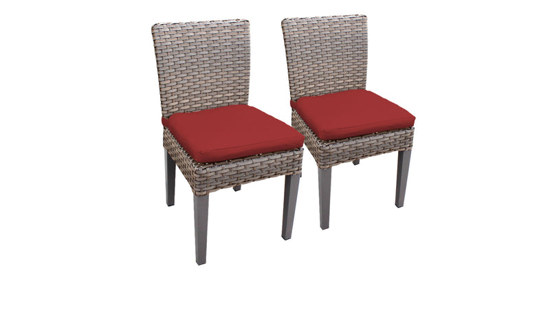 2 Monterey Armless Dining Chairs