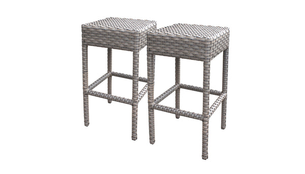 2 Monterey Backless Barstools