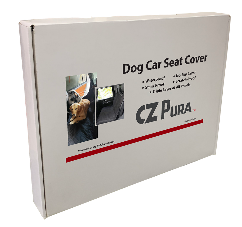 Dog Car Seat Cover by CZ PURA