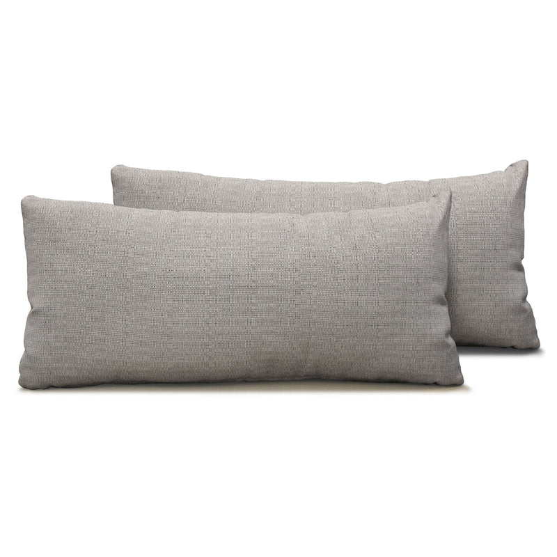 Ash Outdoor Throw Pillows Rectangle Set of 2