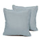 SPA Outdoor Throw Pillows Square Set of 2
