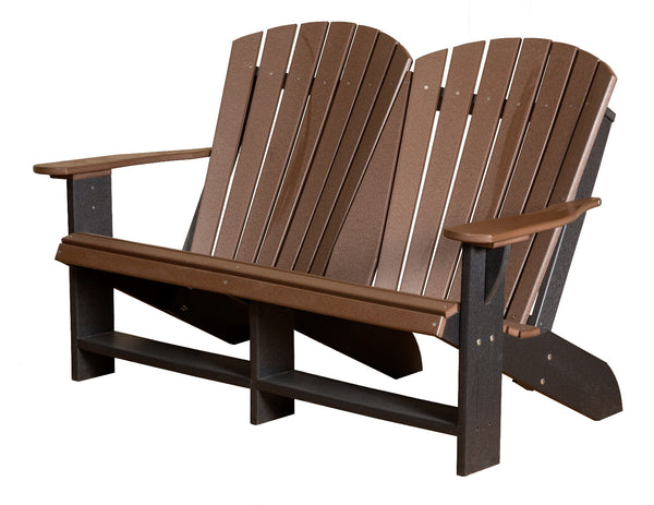 Heritage Double Adirondack Bench by Wildridge
