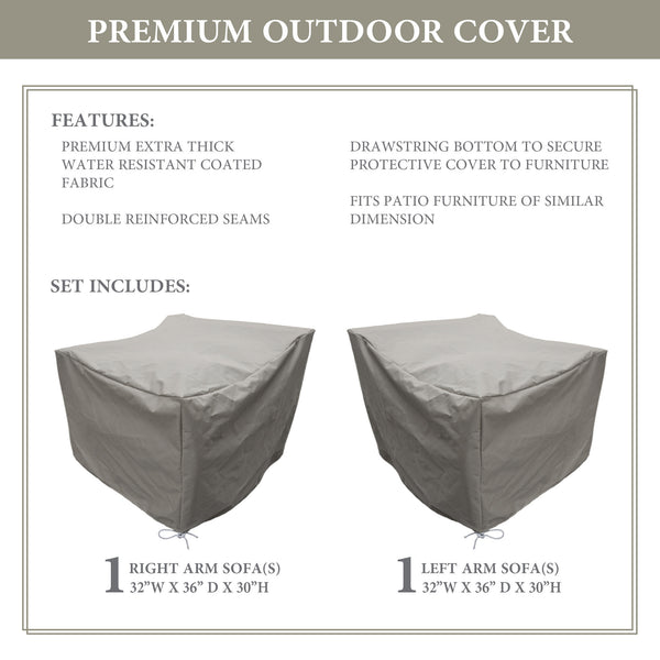 kathy ireland Homes & Gardens RIVER-02a Protective Cover Set
