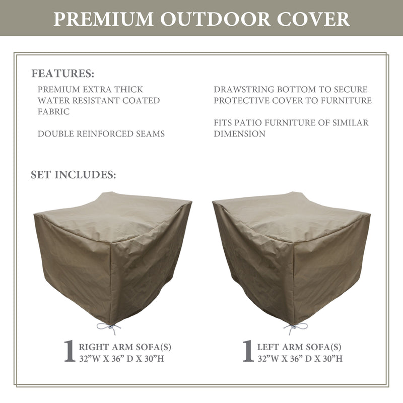 kathy ireland Homes & Gardens RIVER-02b Protective Cover Set