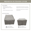 Kathy Ireland Homes & Gardens RIVER-03a Protective Cover Set