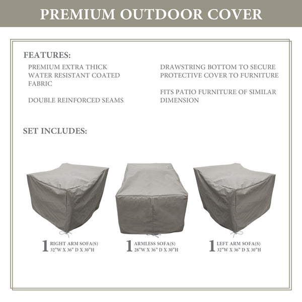 Kathy Ireland Homes & Gardens RIVER-03c Protective Cover Set