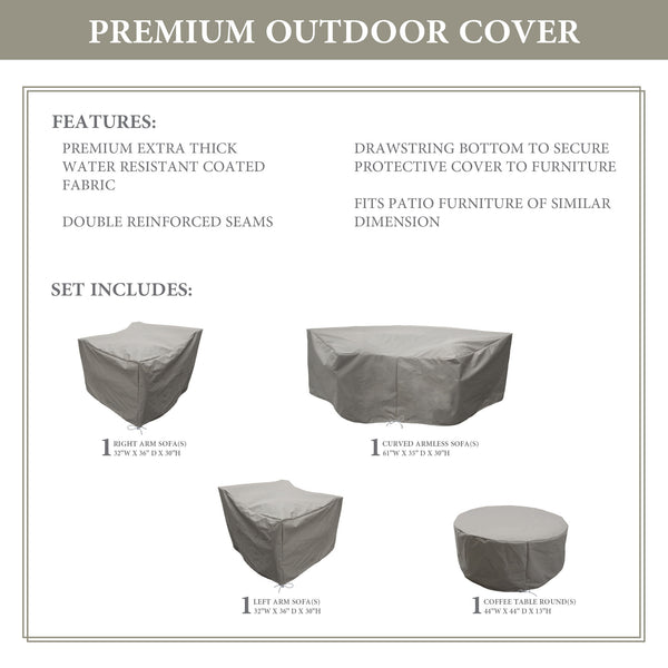 Kathy Ireland Homes & Gardens RIVER-04b Protective Cover Set