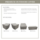 Kathy Ireland Homes & Gardens RIVER-05c Protective Cover Set