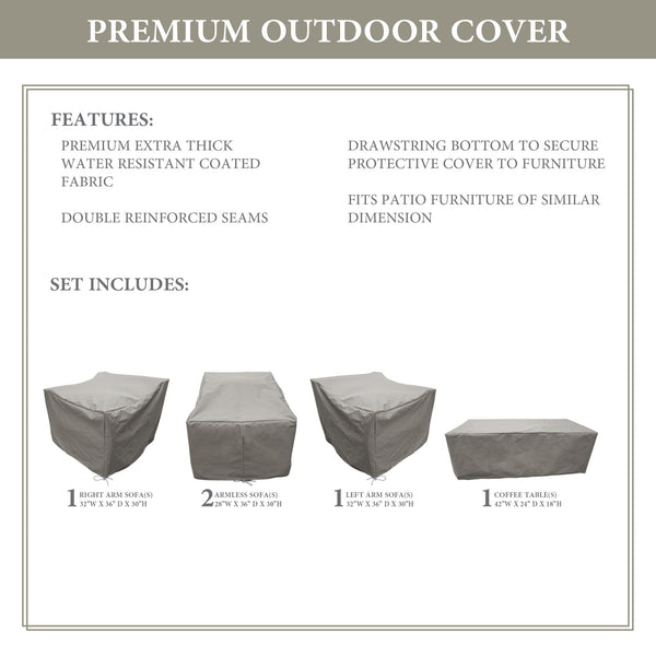 Kathy Ireland Homes & Gardens RIVER-05d Protective Cover Set
