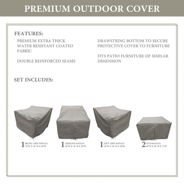 Kathy Ireland Homes & Gardens RIVER-05e Protective Cover Set