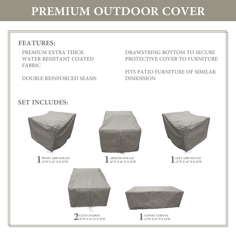 kathy ireland Homes & Gardens RIVER-06r Protective Cover Set