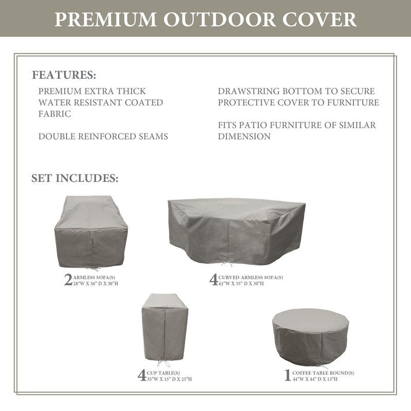 kathy ireland Homes & Gardens RIVER-11b Protective Cover Set