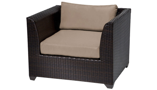 Barbados 6 Piece Single Chairs Set - Outdoor Wicker 06q