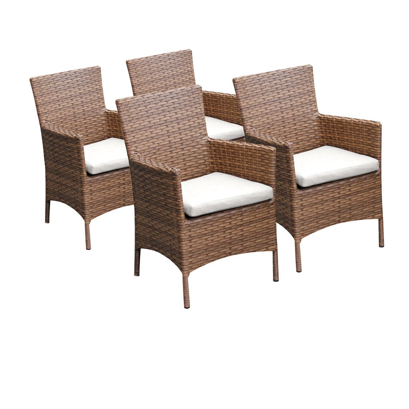 4 Laguna Dining Chairs With Arms