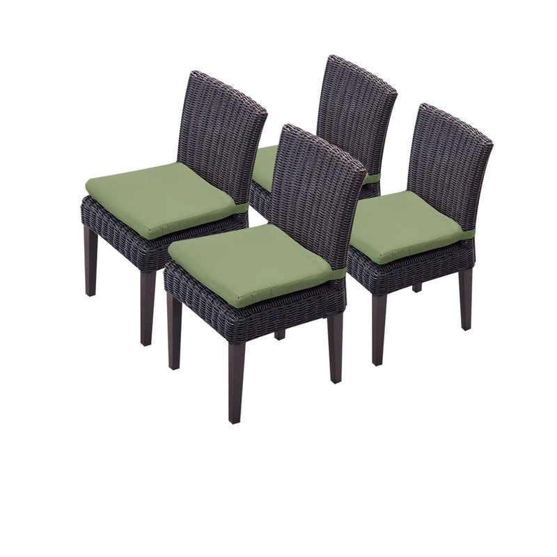 4 Venice Armless Dining Chairs