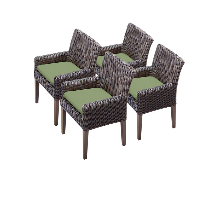 4 Venice Dining Chairs With Arms