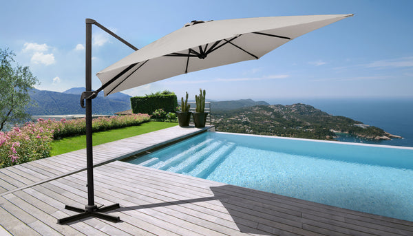 10' Outdoor Cantilever Umbrella for Kathy Ireland Homes & Gardens