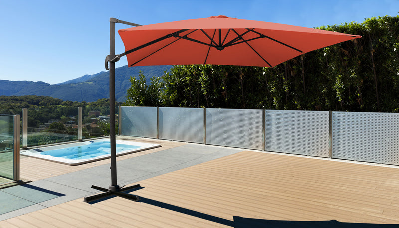11' Outdoor Cantilever Umbrella