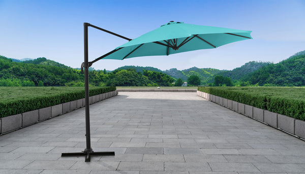 11' Outdoor Cantilever Umbrella for Kathy Ireland Homes & Gardens